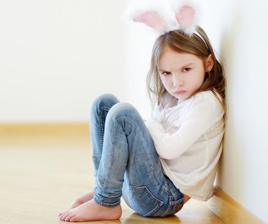3 tips for å roe ned et sint barn